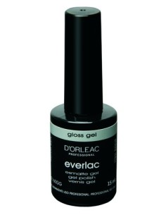 Esmaltado de gel - Gloss gel - Everlac - D`Orleac - 15ml