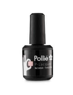 Esmalte de gel - P-Lacquer - Pollie - French Pink - 15ml