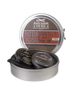 Set de Cera y Fibra Capilar - Hairgum - Authentic Greaser
