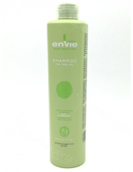 Champu Vegano Anticaspa - Tea Tree Oil - Envie