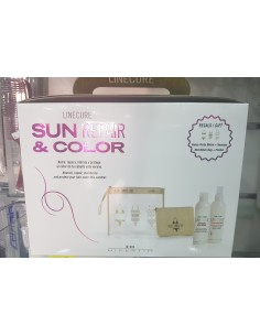 Pack Solar Hipertin - Sun Repair & Color - Champu + Spray