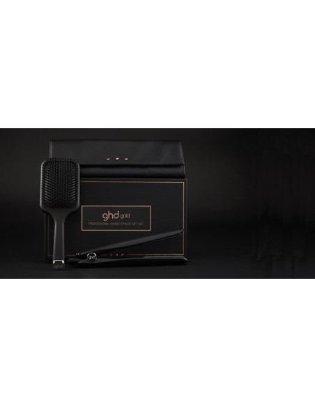 Plancha Ghd Gold Gift Sed - Con bolso y Cepillo Paddle